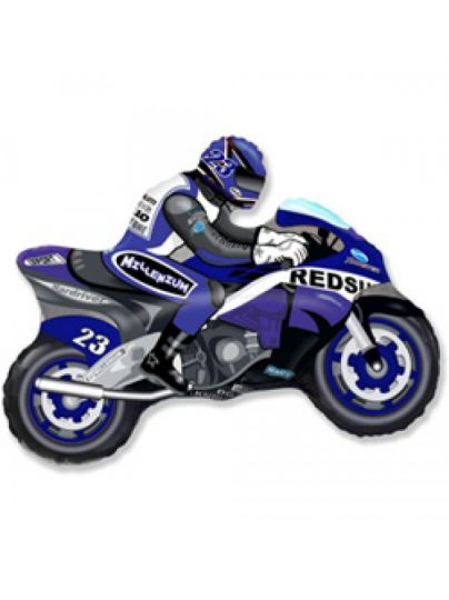 Мотоциклист на палочке