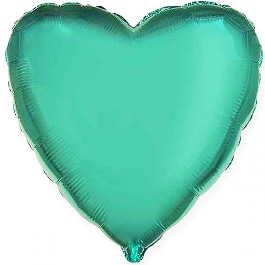 Сердце бирюзовое