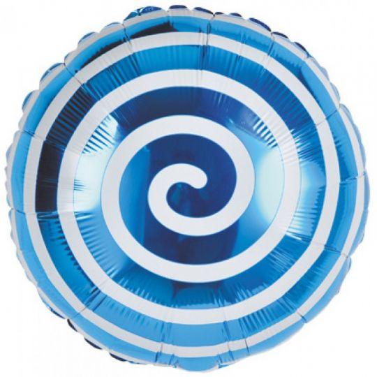 Синяя спиралька