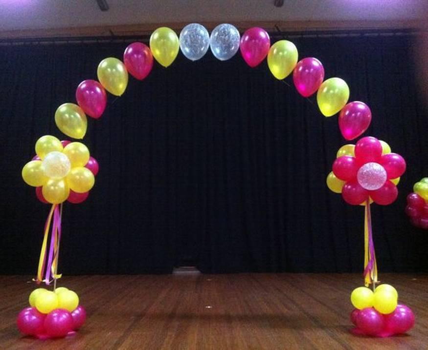 Как сделать из арку из шаров своими руками