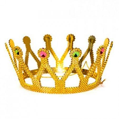 Корона карнавальная золотая