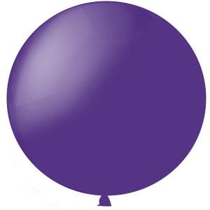 Метровый шар Пурпурный Полупрозрачный