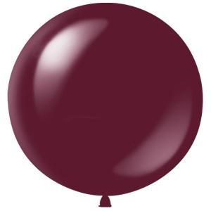 Метровый шар Бургундия Полупрозрачный