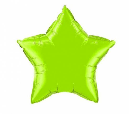 Звезда зелёная (яблоко)